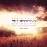 No. 160 - Voice of Thanksgiving