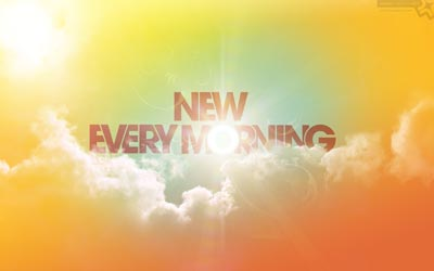 No. 070 - New Every Morning