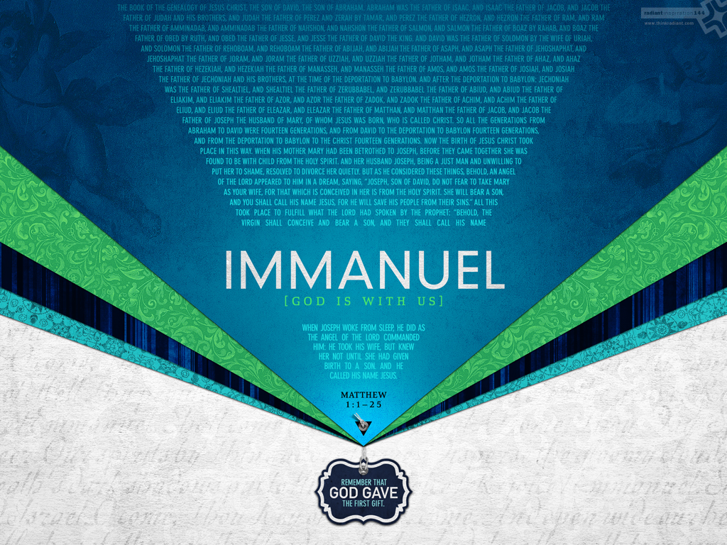 No. 144 - Immanuel (www.thinkradiant.com)